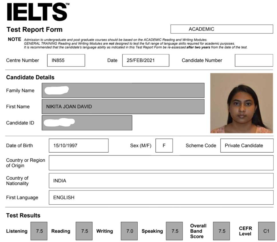 IELTS Course Banglore the Best IELTS Trainer