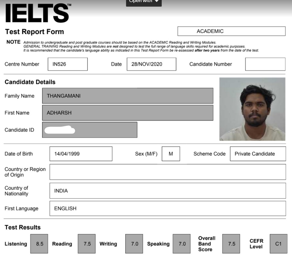 The Best IELTS Trainer in Banglore