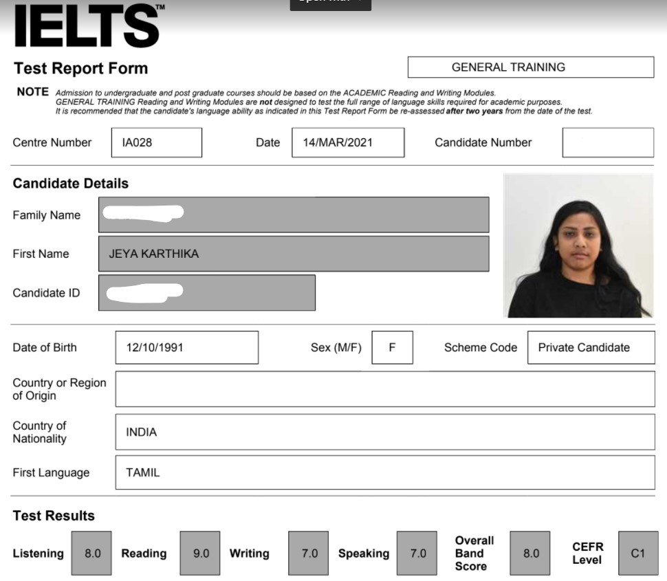 The Best IELTS Training Institute in Banglore
